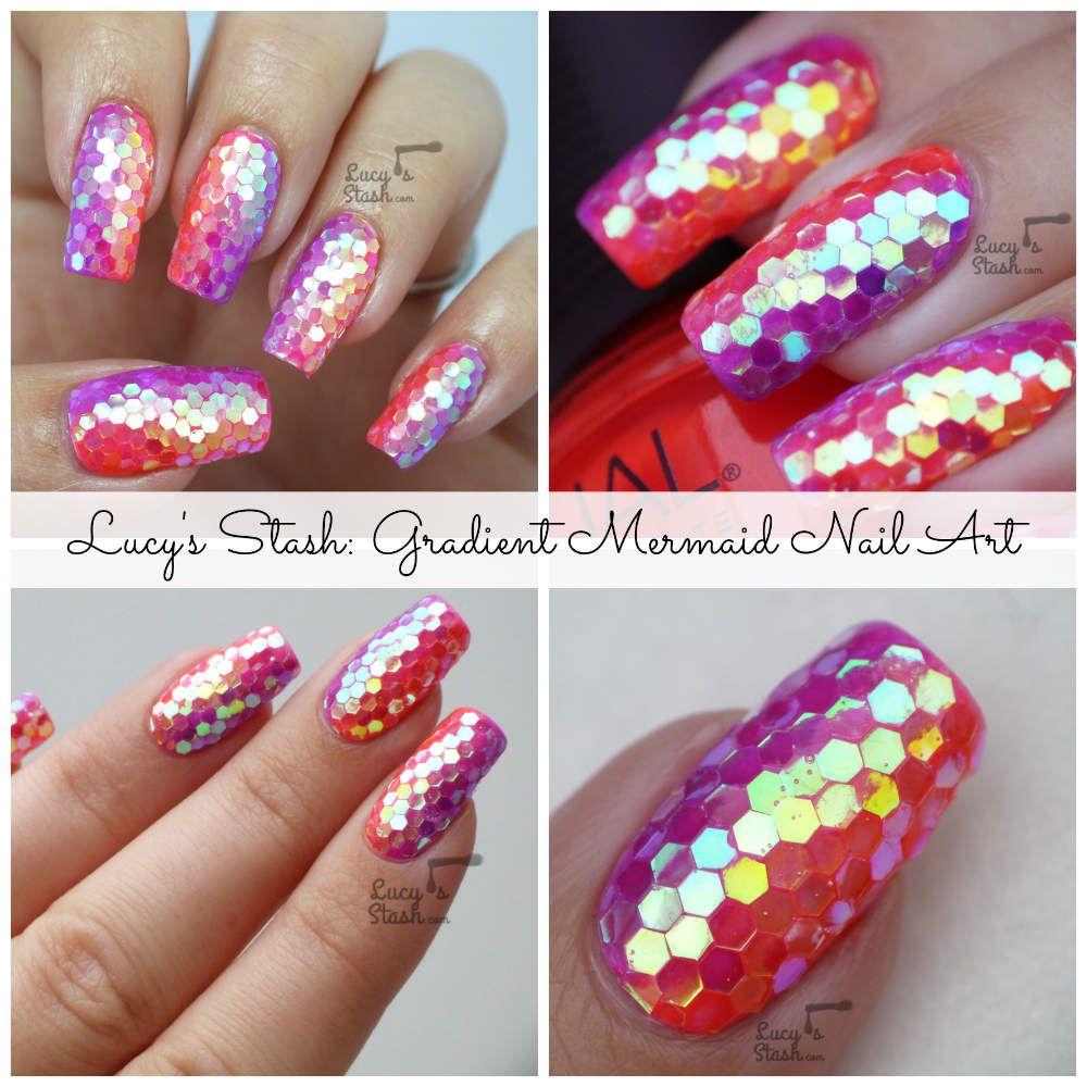 Nailvengers Assemble! - Glitter Placement Nail Art (Lucy\'s Stash ...