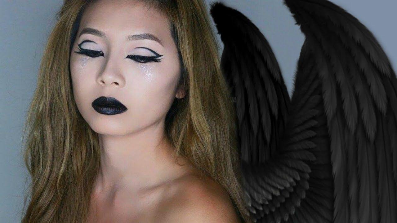 angel halloween makeup. amazing and beautiful halloween angel makeup