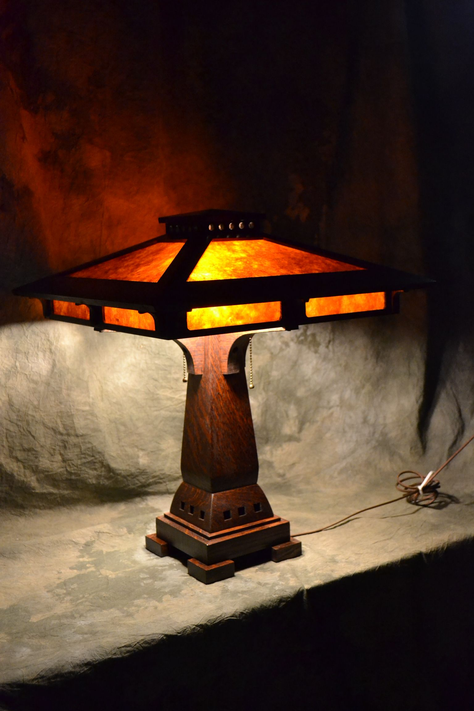 Prairie Craftsman Table Lamp | Lamp, Table lamp, Craftsman ...