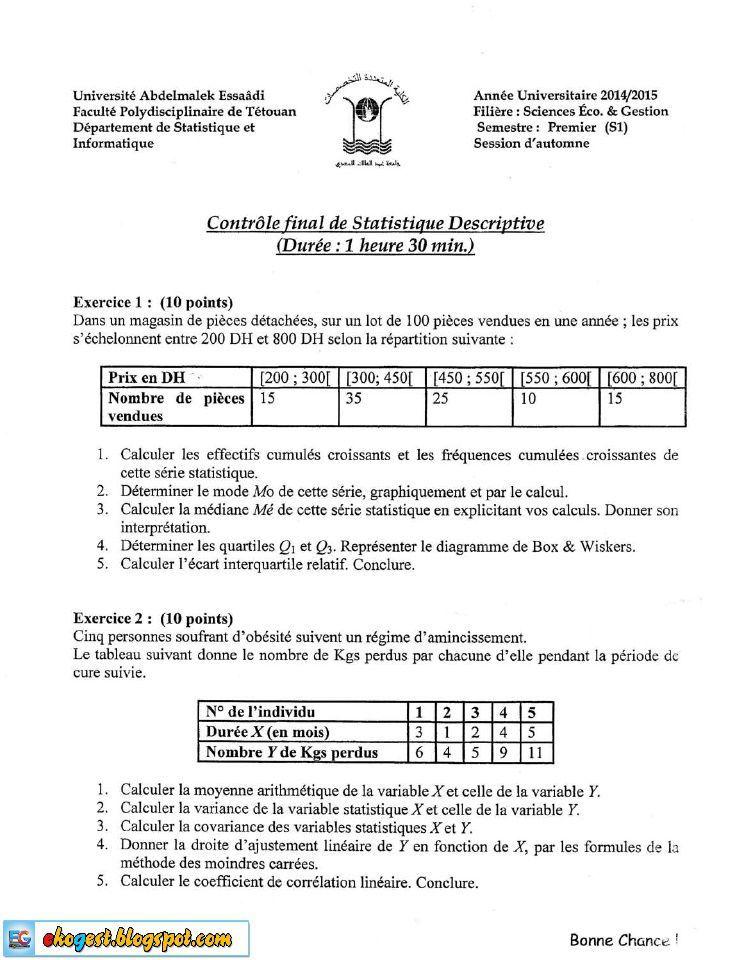 Cours Exercices Examens En Economie Finance Gestion Management Descriptive Sheet Music