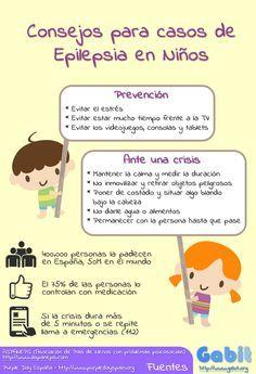 Infografia Recomendaciones Para Casos De Epilepsia En Ninos Con