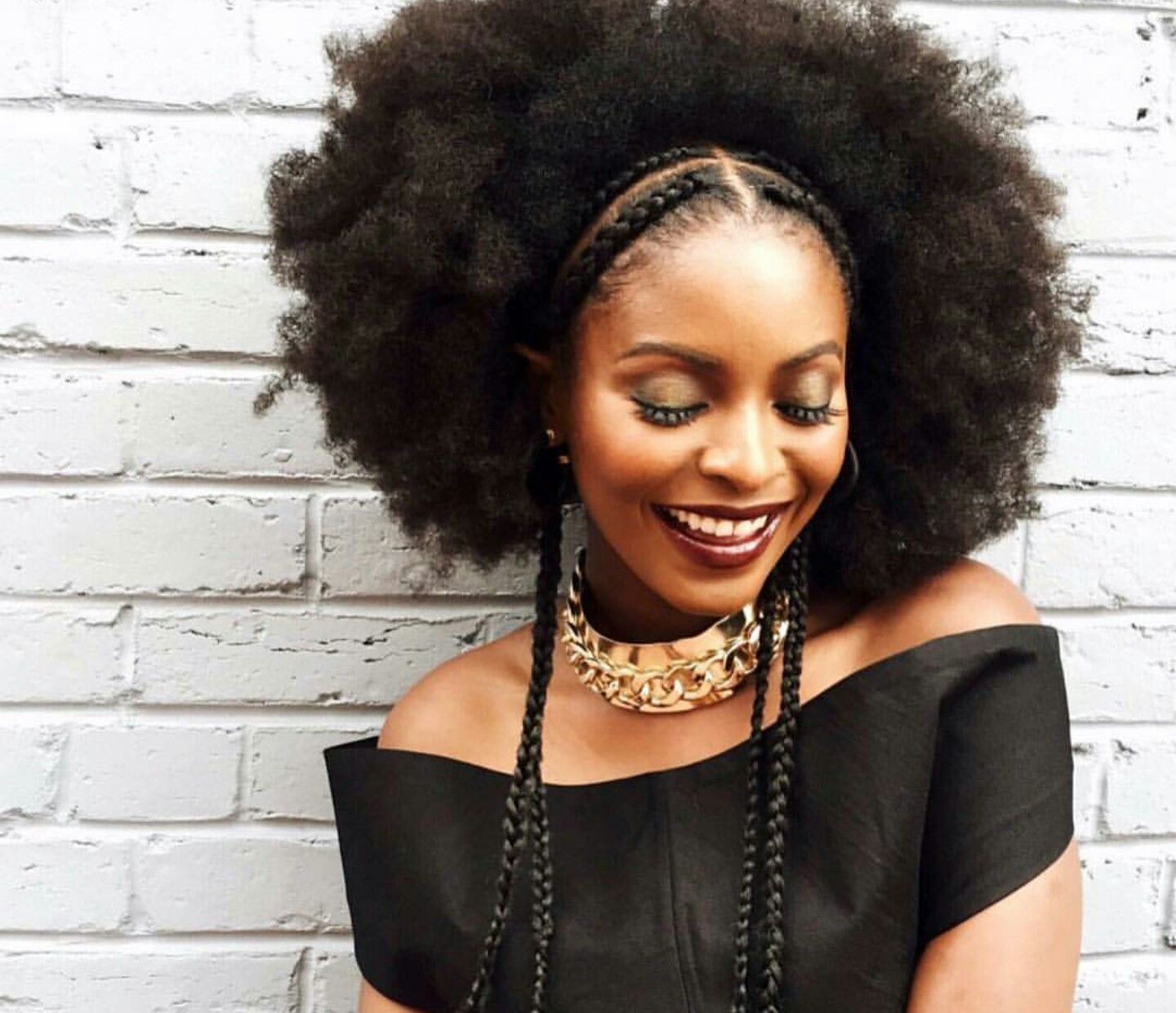 Naturalhair Cornrow Hairstyles Hair Inspiration Curly Hair Styles