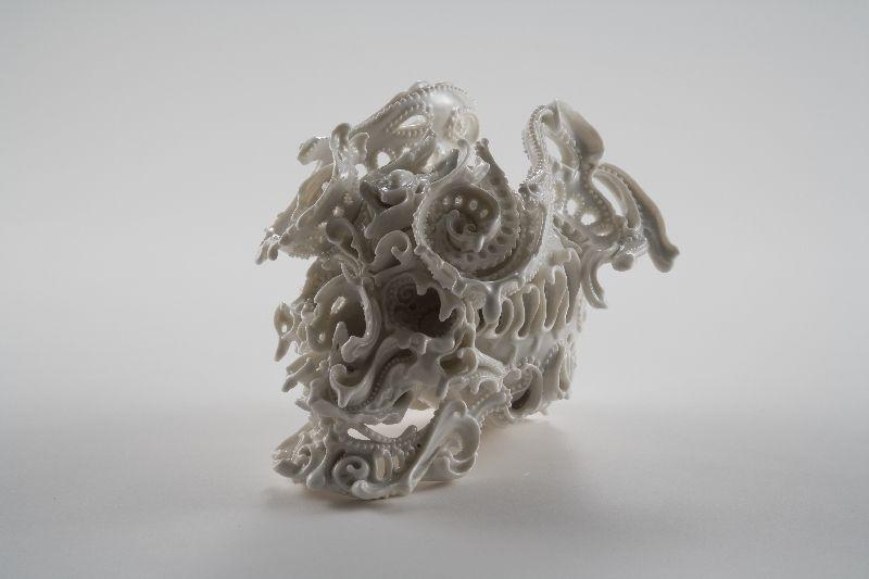 Simplemente creativo: Porcelana cráneos de Katsuyo Aoki