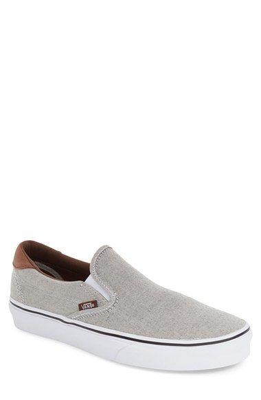 VANS '59' Oxford & Leather Slip-On (Men). #vans #shoes #
