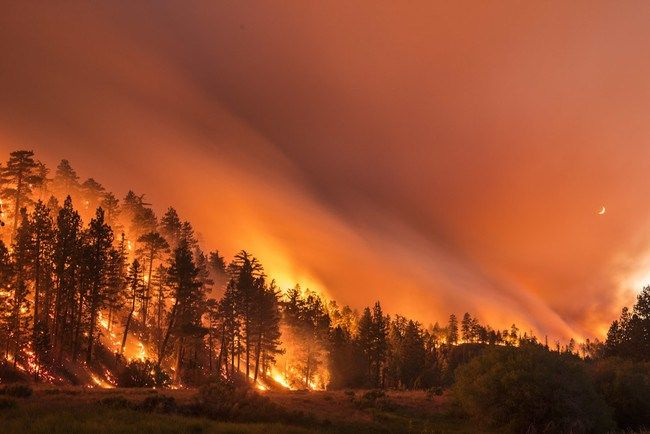 California S Wildfires Are Not To Be Taken Lightly They Sweep Over The Land Incinerate Entire Towns And For Long Exposure Photos California Wildfires Scenery