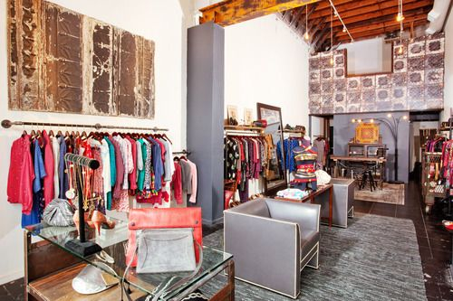 Oldies But Goodies 29 Of The Best Vintage Stores Ever According To The Designers Who Shop Them Looking For A Worn In Wrangler Jacket Vintage Store Design Home