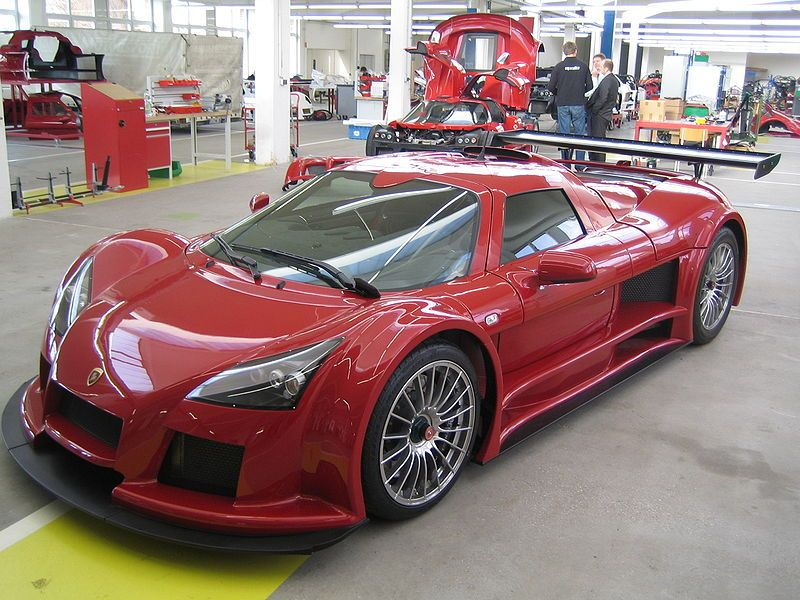 A Brand New Gumpert Apollo In The Gumpert Factory New Sports Cars Super Cars Sport Cars