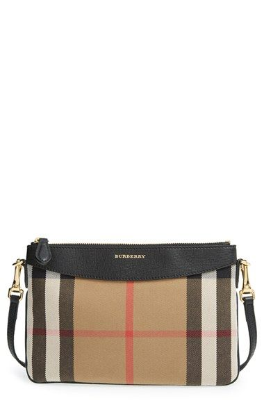 90f9bb844a67 Burberry  Peyton - House Check  Crossbody Bag available at  Nordstrom