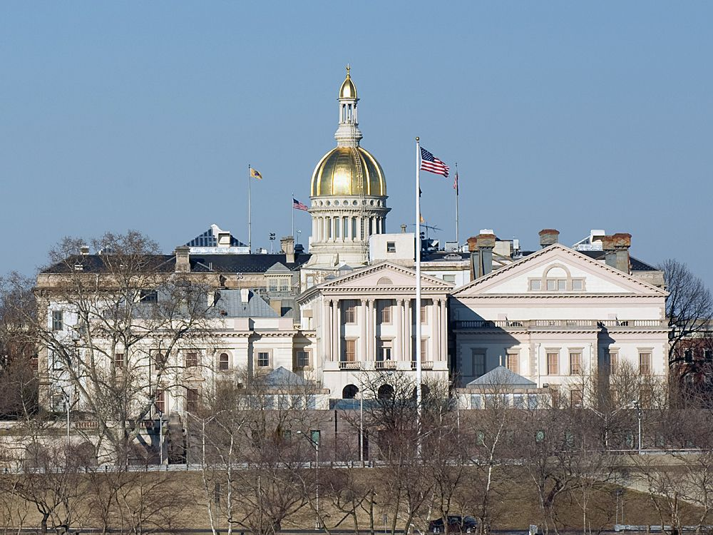 New Jersey State Capital | State capitals, Capitol building, Building