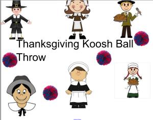 Koosh Ball throw- SMART notebook Free www.smartboardideas.com