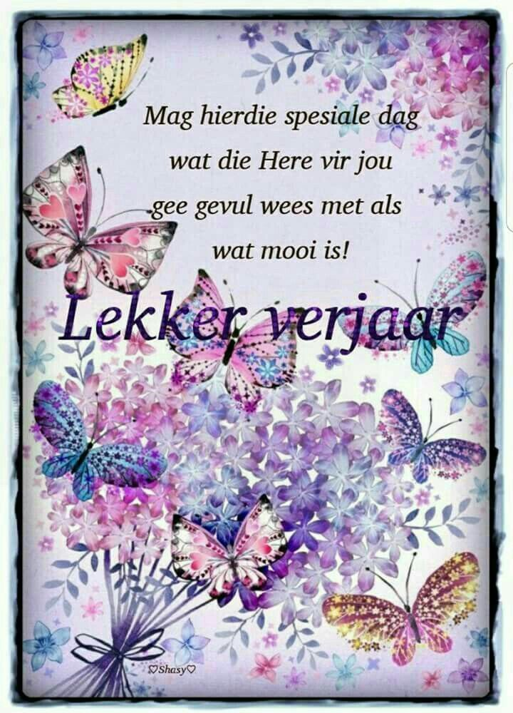Pin by Esme Duvenhage on Verjaardae Happy birthday