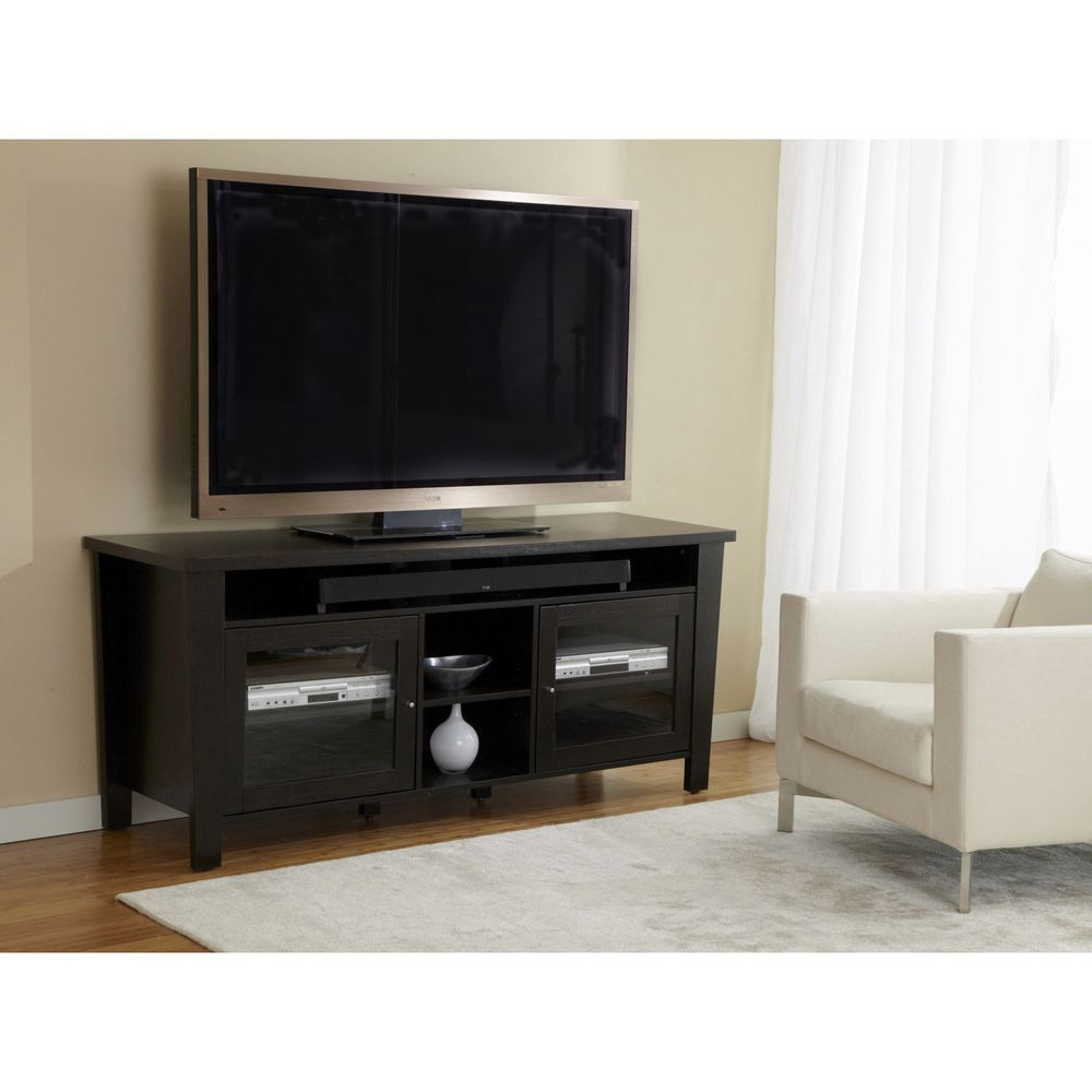 Modern 70 Inch Tv Cabinet With Soundbar Shelf Overstock Com