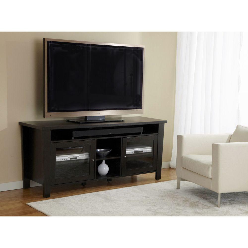 Modern 70 Inch TV Cabinet With Soundbar Shelf | Overstock.com
