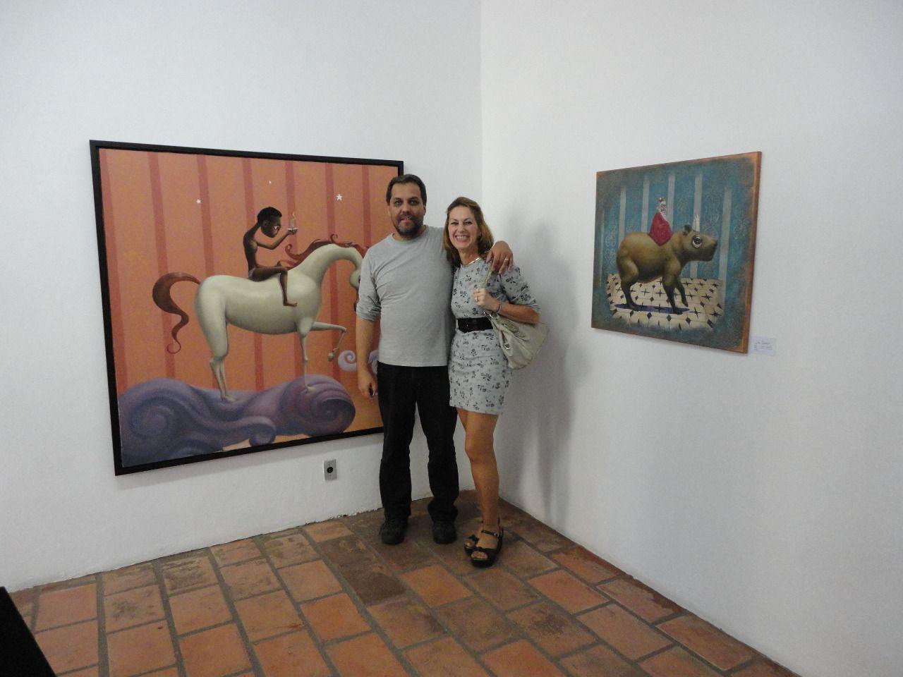WEBNODE :: Galeria de Mara Cruz :: Mara Cruz e Juva Santana Artes