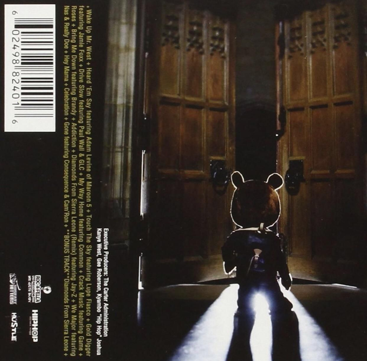 The Back Of Late Registration Album Cover In 2020