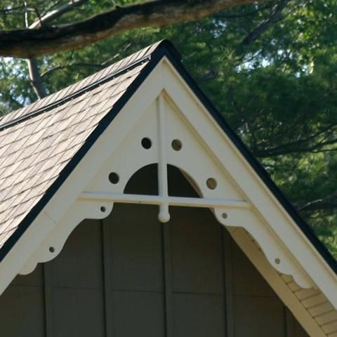 Gable Trim Metal Menards Fabral Installation Home Depot