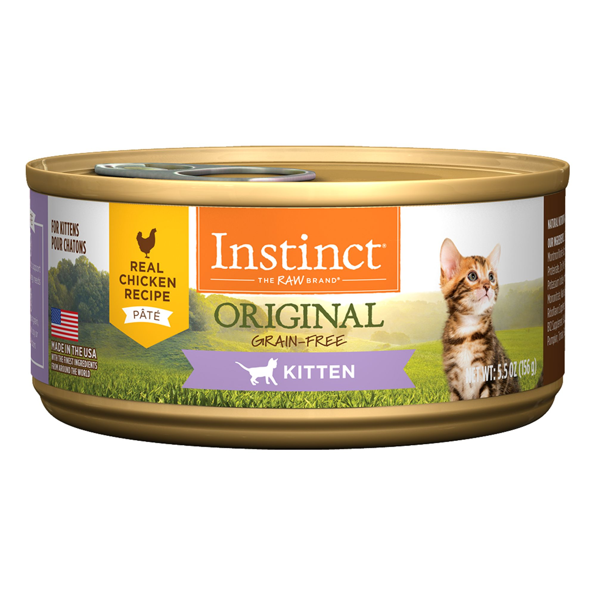 Nature S Variety Instinct Grain Free Kitten Food Natural Chicken Kitten Food Canned Cat Food Best Cat Food
