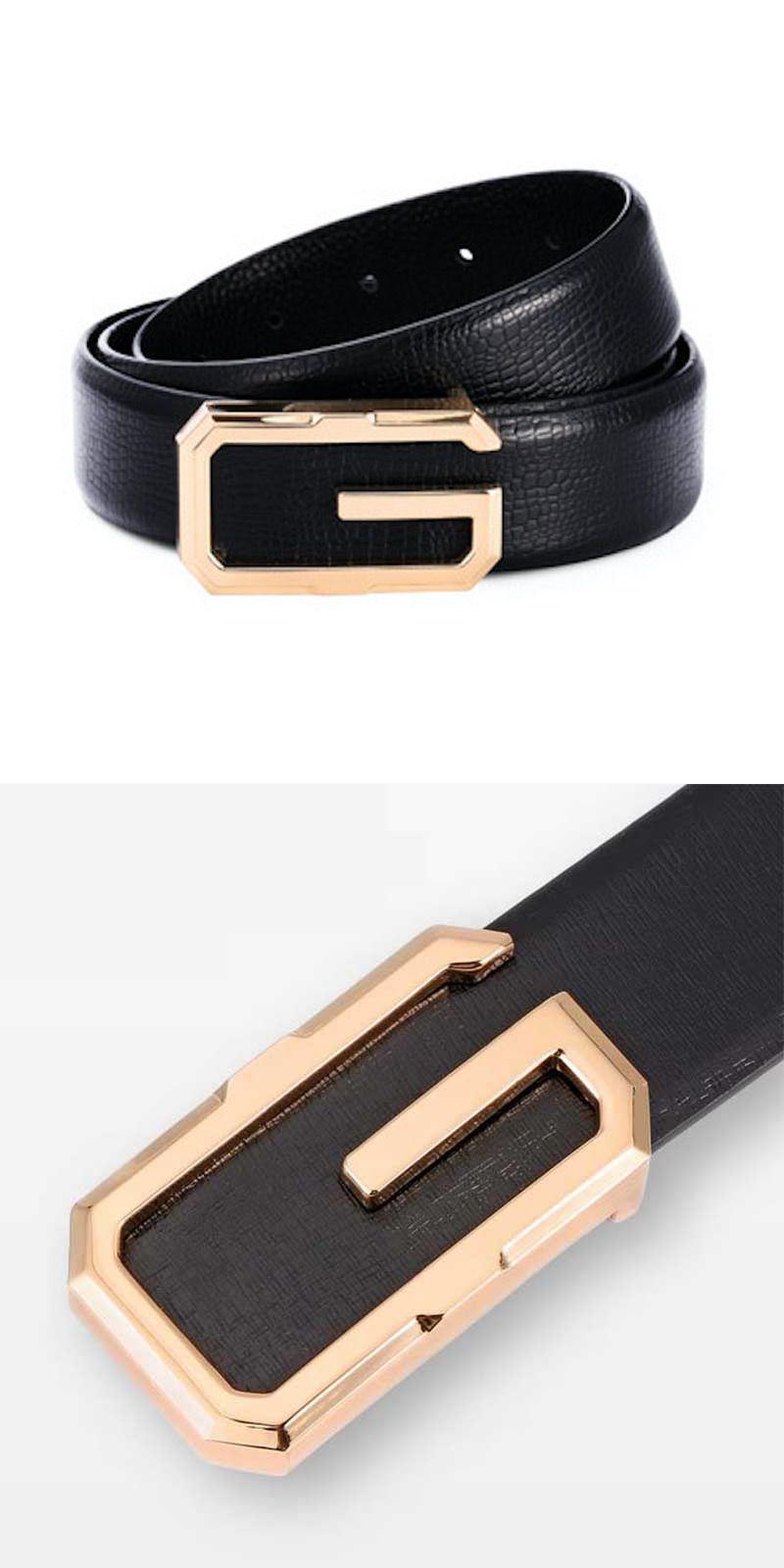 Adjustable Fashionable Canvas Metal Square Ring Buckle Canvas Belt Y