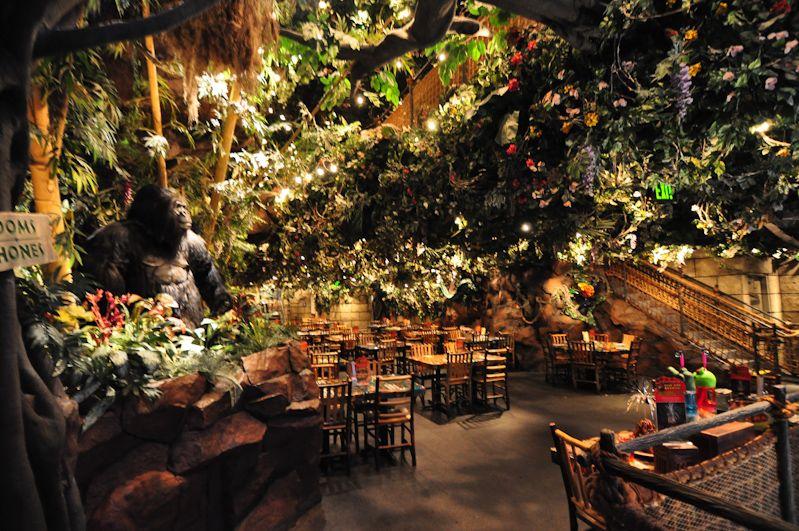 Rainforest Cafe Riverwalk Menu