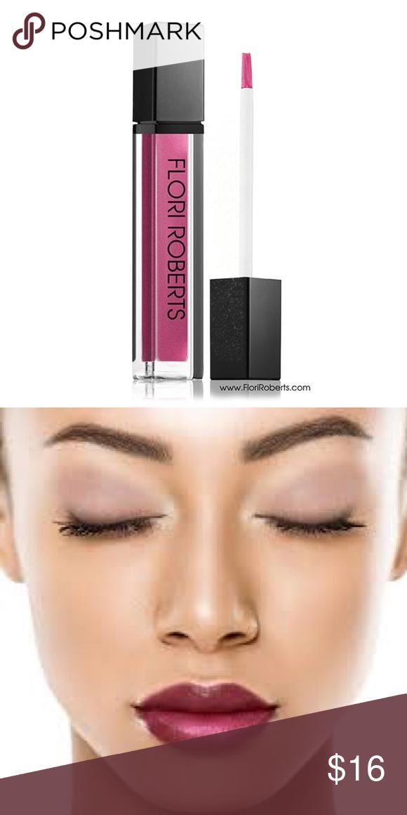 Flori Roberts Mineral Lip Shine Plum Berry Boutique Lip