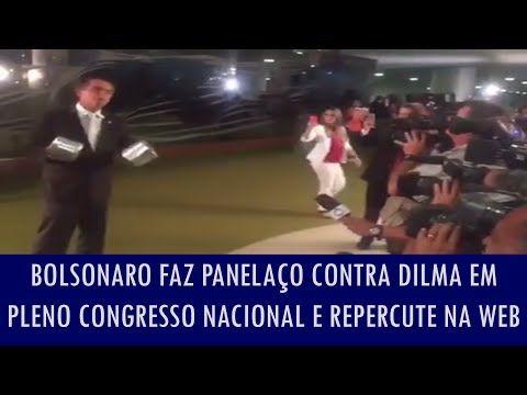 Política na Rede: Bolsonaro faz panelaço contra Dilma e o PT em pleno Congresso Nacional e repercute na web; veja