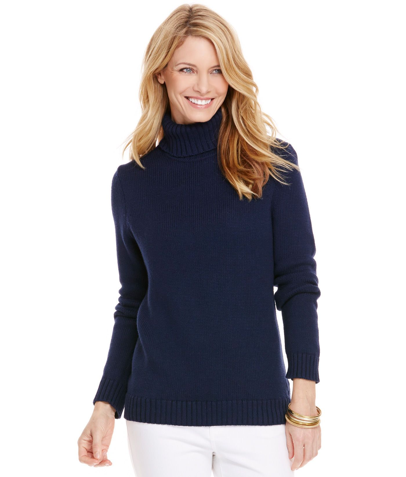 Shop Cotton Turtleneck Sweater at vineyard vines | fashion ...