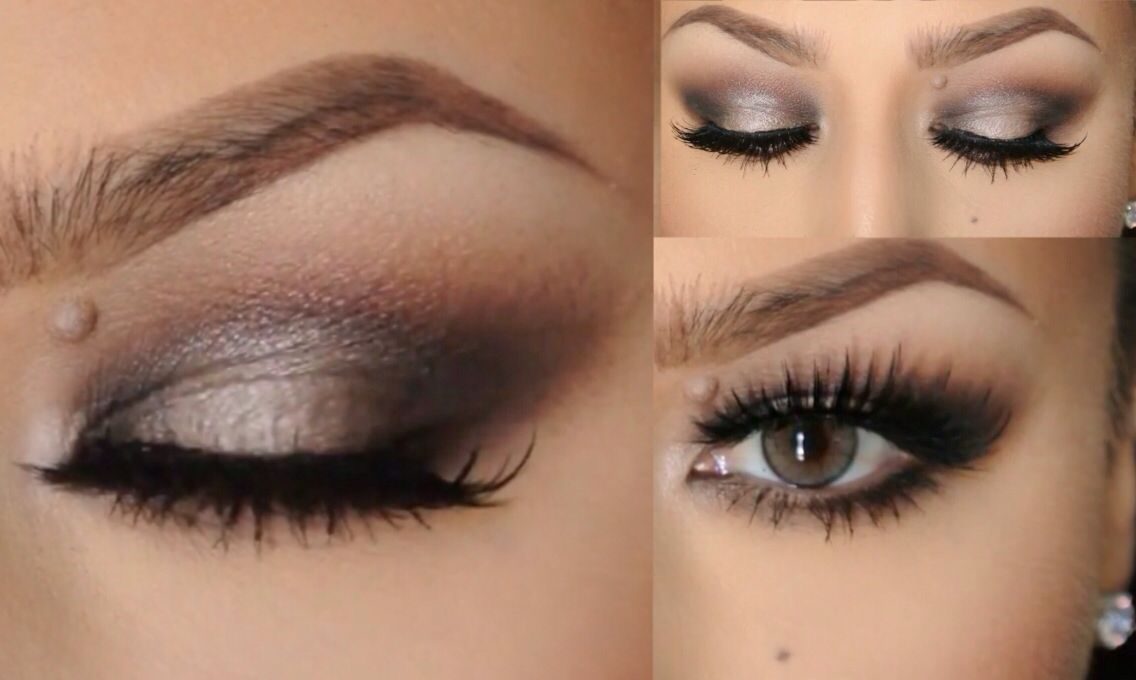 Halo Smokey Eyes For Small Eyelids Smokeyeyes Smalleyelids My