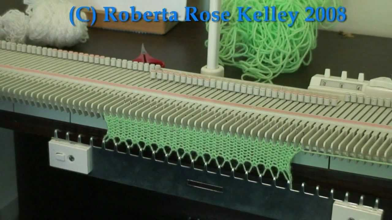 Slip Stitch Edging | Machine Knitting and Weaving | Pinterest ...