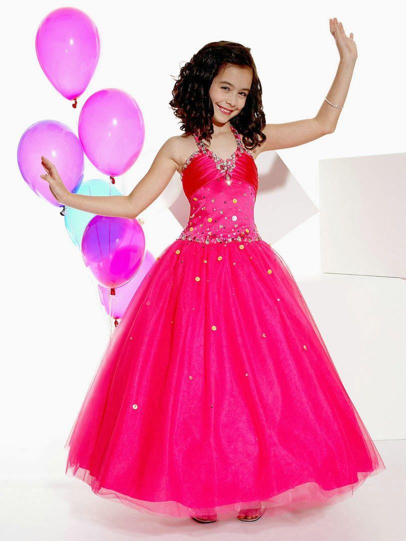 Lindos Vestidos de fiesta para niña | Moda y Tendencias | Cosas para ...