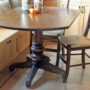 Small Rectangular Pedestal Kitchen Table