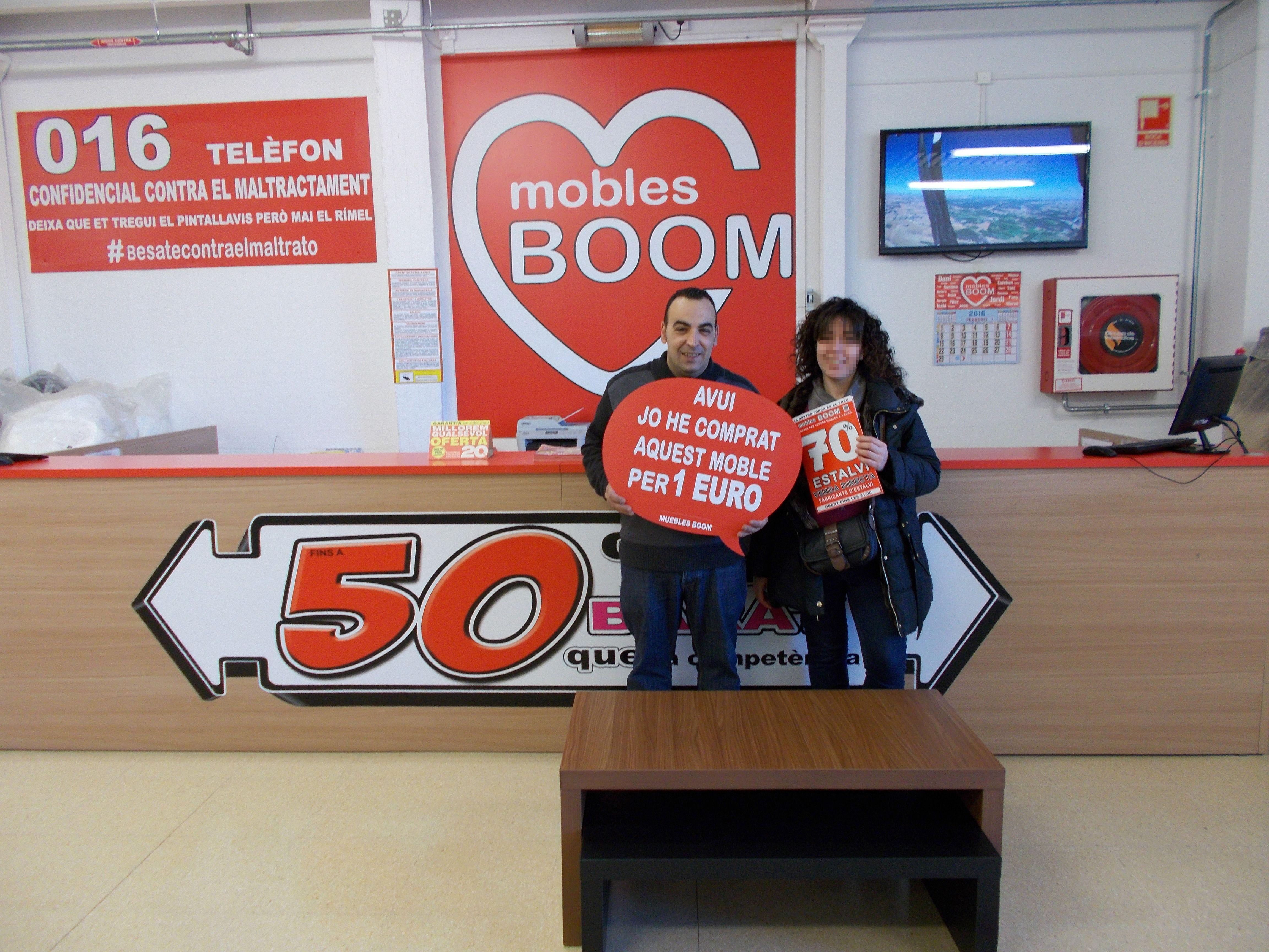 El pasado lunes javier g v se compr por s lo 1 euro for Muebles boom lleida