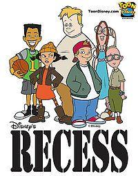 Google Image Result For Http Upload Wikimedia Org Wikipedia En Thumb 8 8c Recess Poster Toon Jpg 200px Recess Post Recess Cartoon Cartoon Tv Shows Cartoon Tv