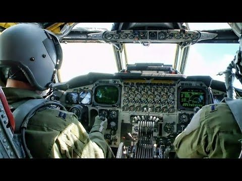 Inside A B 52 Cockpit O Takeoff To Landing
