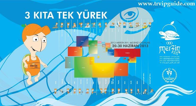 Отдых в Стамбуле http://trvipguide.com/istanbulweekend 20 июня на стадионе в Мерсине, на юге Турции, официально открылись 17-е Средиземноморские игры. В общей сложности 2,994 тыс атлетов из 24 стран и районов мира примут участие в этих соревнованиях в южном городе Мерсин. Турцию на играх представляют 430 спортсменов, за ней по численности команда Италии - 421 атлет и команда Франции - 258 спортсменов