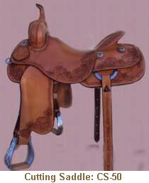 Jerry Shaw Cutting Saddle: CS-50