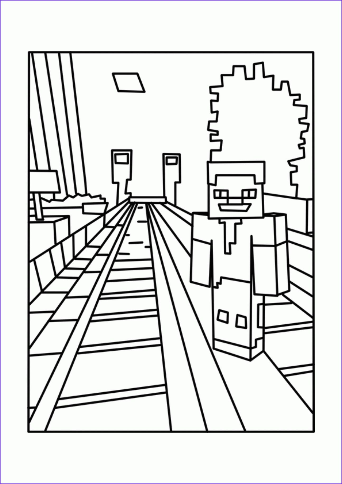 14 Beautiful Gallery Of Coloring Page For Minecraft Minecraft Coloring Pages Coloring Pages For Teenagers Fnaf Coloring Pages