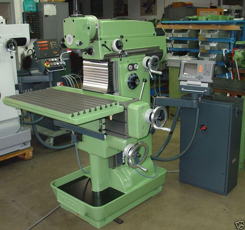 Manual Milling Machine : Deckel manual milling machine machinist life pinterest