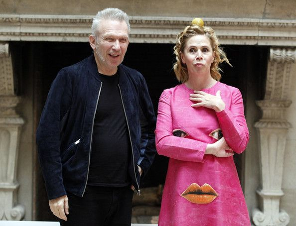 Agatha Ruiz De La Prada Photos: Jean Paul Gaultier and Agatha Ruiz de la Prada in Madrid