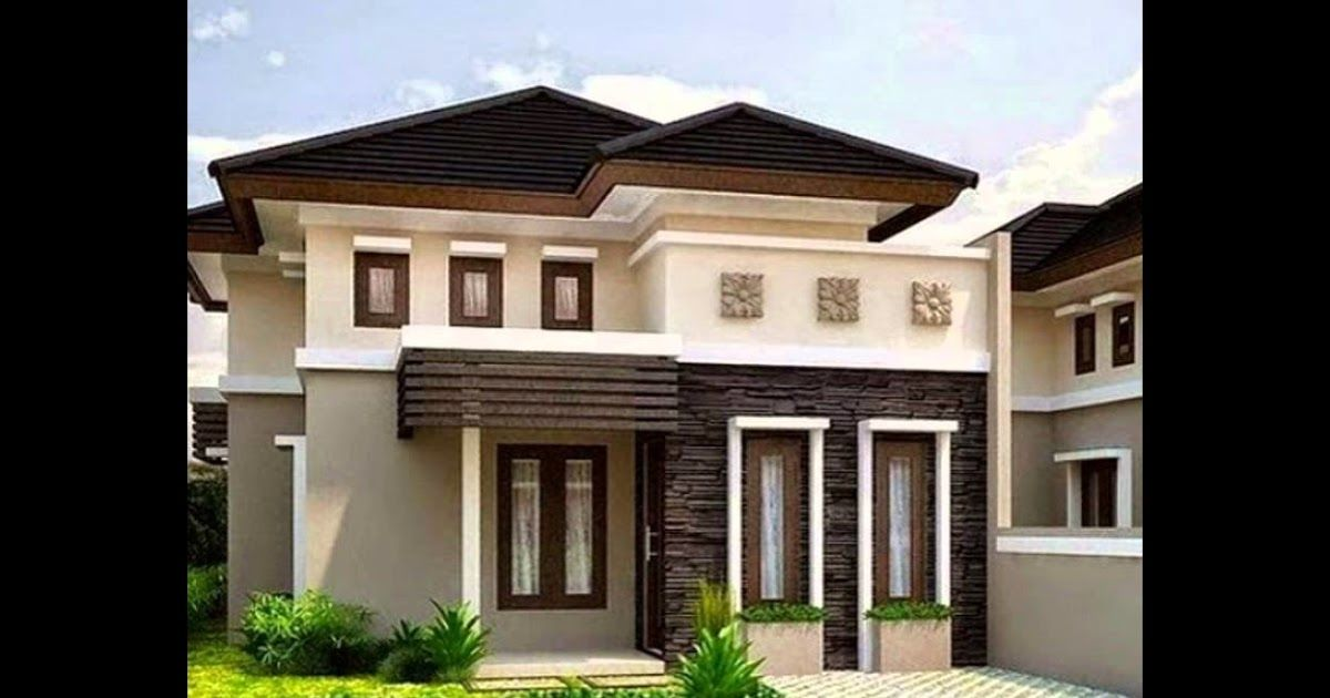 Desain Warna Rumah Minimalis Coklat Di 2020 Rumah Minimalis