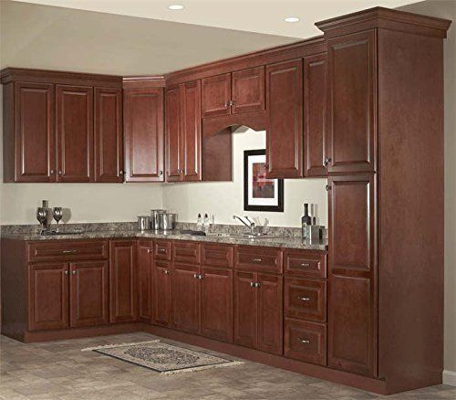 Natural Maple Kitchen Cabinets: Quincy Cherry Collection Jsi 10x10 Kitchen Cabinets