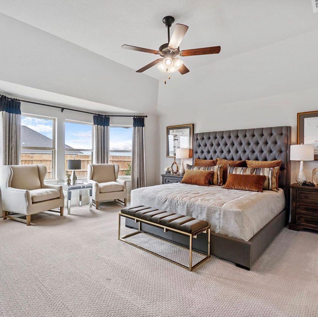"Interior Design ▪️ Home Decor on Instagram: ""Follow @olla_home for more inspiration❤️ . . . . . Photo credit: @empire_texas  #homestyle #interiorinspiration  #masterbedroom #bedroom…"""
