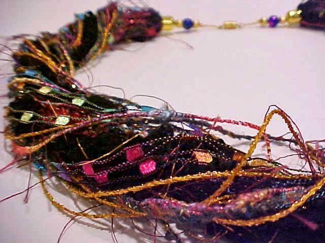 Elegant, Fabulous & Fun Fiber Necklaces & Earrings by Jane Ann Steiner