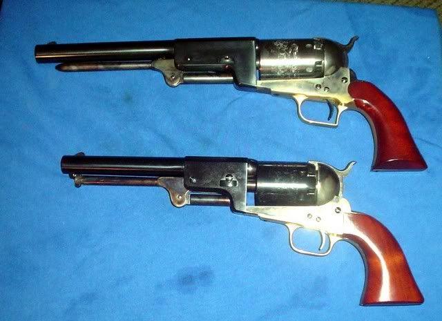 1847 Colt Walker Revolver & 1848 Dragoon   Bang 3 (1196 pins