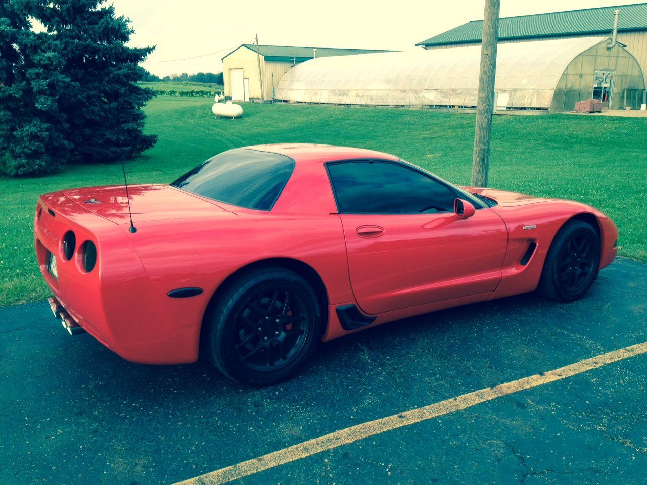 2004 Torch Red Z06 Corvette Corvette Little Red Corvette