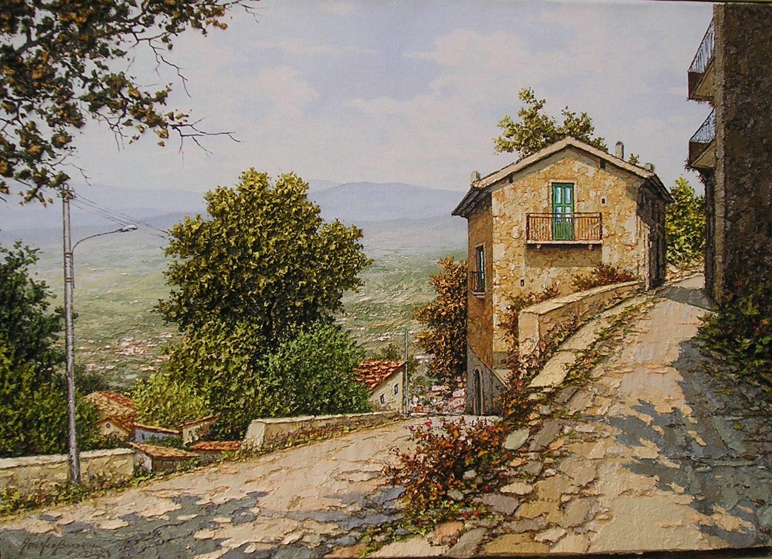 Amedeo Borzone, biografia, dipinti, pitture | Promozione Arte | Dipinti | Opere pittoriche | Artisti