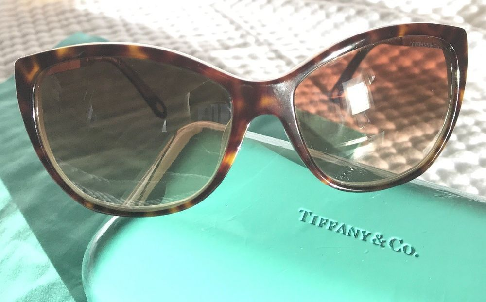 72f74f82eeb9 Tiffany   Co. Atlas Sunglasses w  Rhinestones R4094-B 8134 3B ITALY  Authentic  fashion  clothing  shoes  accessories  womensaccessories ...