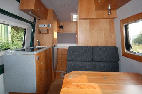 mercedes sprinter ausbau mit iglhaut allrad 4x4 sprinter. Black Bedroom Furniture Sets. Home Design Ideas