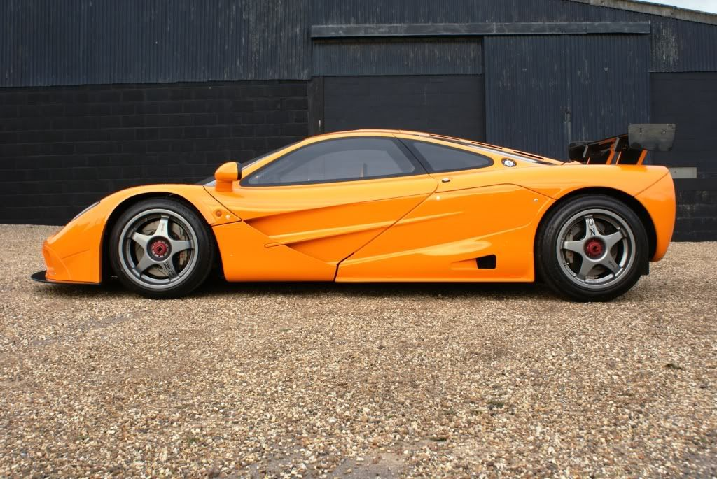 McLaren F1 GTR (chassis #16R) Race Car converted to Street Legal ...