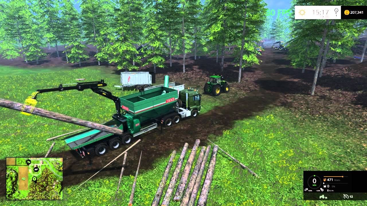farming simulator 2015 wood chipper kind of success | Farming