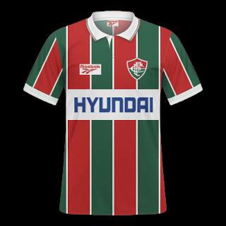 c71facfc4 GT Camisas  Camisas Fluminense 1995 - Home e Away